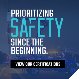 Prioritizing safety since the beginning. View our certifications